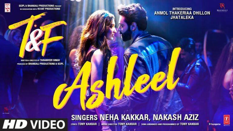 Ashleel Lyrics - Benny Dayal, Neha Kakkar