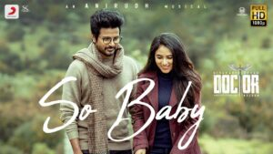So Baby Lyrics - Ananthakrrishnan, Anirudh Ravichander