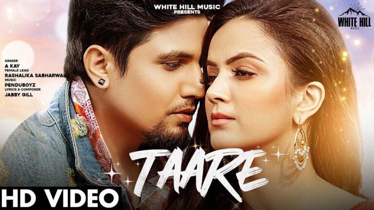 Taare Lyrics - A Kay