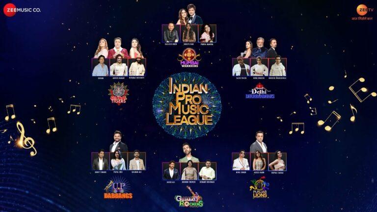 Indian Pro Music League Anthem Lyrics - Akriti Kakar, Ankit Tiwari, Ankush Bhardwaj, Asees Kaur, Bhoomi Trivedi, Hemant Brijwasi, Javed Ali, Kailash Kher, Mika Singh, Neha Bhasin, Payal Dev, Purva Mantri, Rituraj Mohanty, Rupali Jagga, Sajid Ali, Salman Ali, Shaan, Shilpa Rao