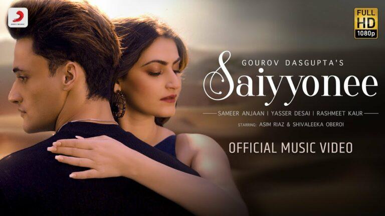 Saiyyonee Lyrics - Rashmeet Kaur, Yasser Desai