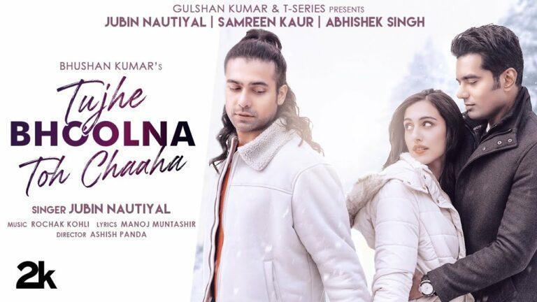 Tujhe Bhoolna Toh Chaaha Lyrics - Jubin Nautiyal