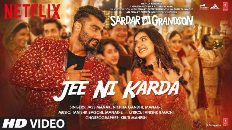 Jee Ni Karda Lyrics - Jass Manak, Manak E, Nikhita Gandhi