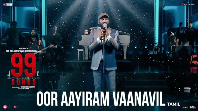Oor Aayiram Vaanavil Lyrics - Vijay Yesudas