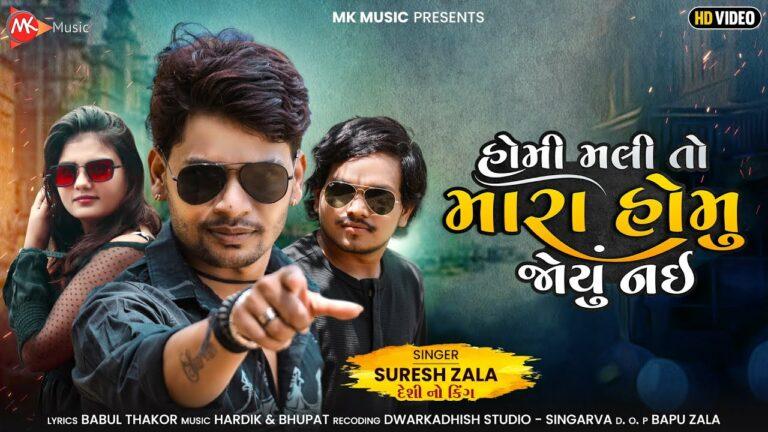 Homi Mali To Mara Homu Joyu Nai Lyrics - Suresh Zala