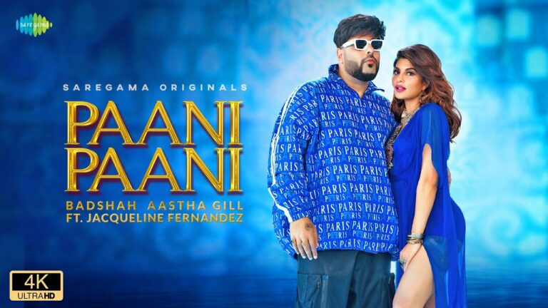 Paani Paani Lyrics - Badshah, Aastha Gill