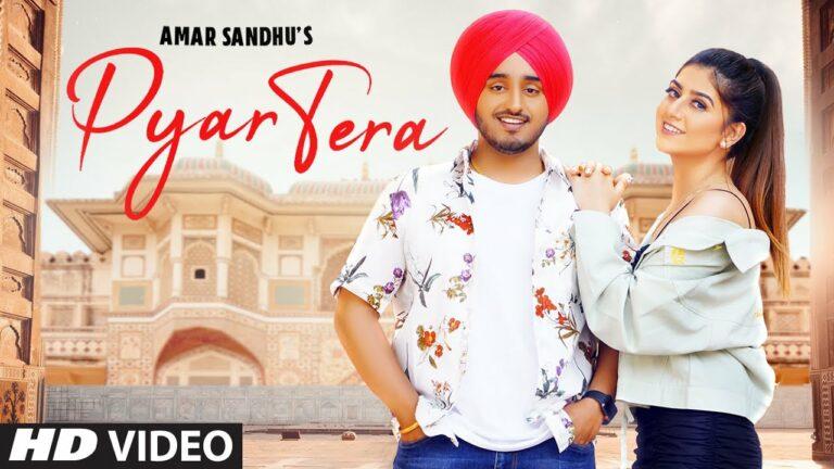 Pyar Tera Lyrics - Amar Sandhu