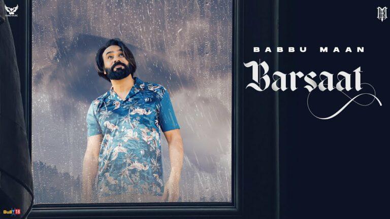 Barsaat Lyrics - Babbu Maan