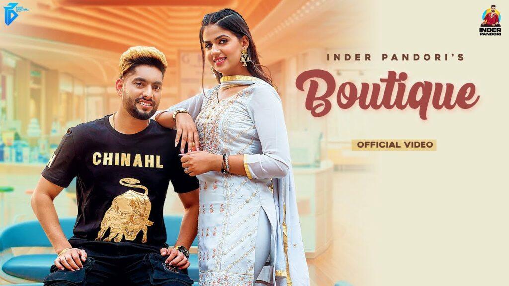 Boutique Lyrics - Inder Pandori