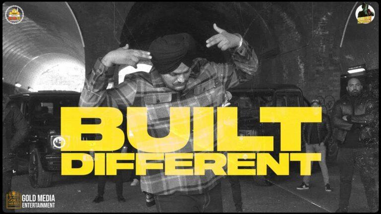 Built Different Lyrics - Sidhu Moose Wala