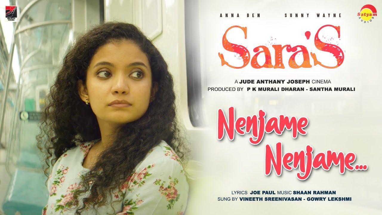 Nenjame Nenjame Lyrics - Vineeth Sreenivasan, Gowry Lekshmi