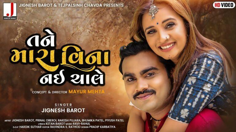 Tane Mara Vina Nai Chale Lyrics - Jignesh Barot (Jignesh Kaviraj Barot)