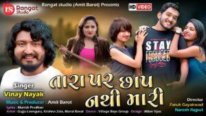 Tara Par Chhap Nathi Mari Lyrics - Vinay Nayak