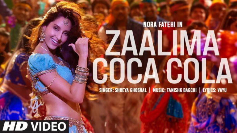 Zaalima Coca Cola Lyrics - Shreya Ghoshal