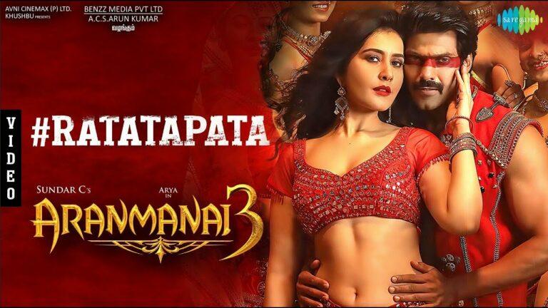 Ratatapata Lyrics - Arivu, Ranina Reddy