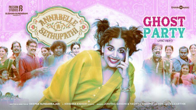 Ghost Party Lyrics - Jonita Gandhi, Yashita Sharma, ADK