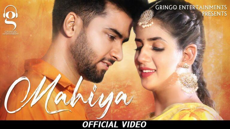 Mahiya Lyrics - Angad