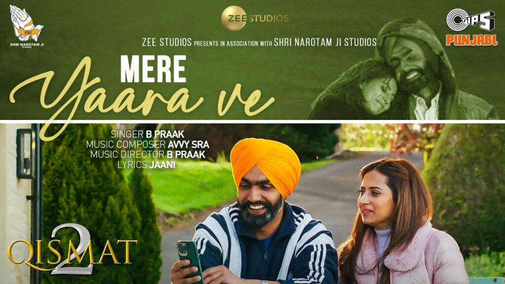 Mere Yaara Ve Lyrics - B Praak