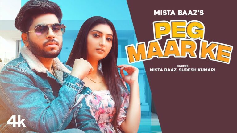 Peg Maar Ke Lyrics - Mista Baaz, Sudesh Kumari