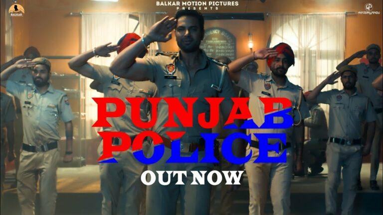 Punjab Police Lyrics - Gagan Kokri