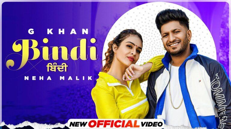 Bindi Lyrics - G Khan