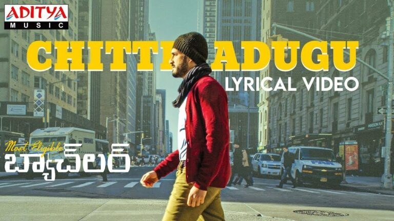Chitti Adugu Lyrics - Ziya Ul Haq
