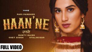 Haan'ne Lyrics - Pari Pandher