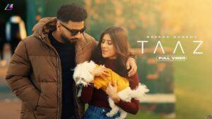 Taaz Lyrics - Navaan Sandhu